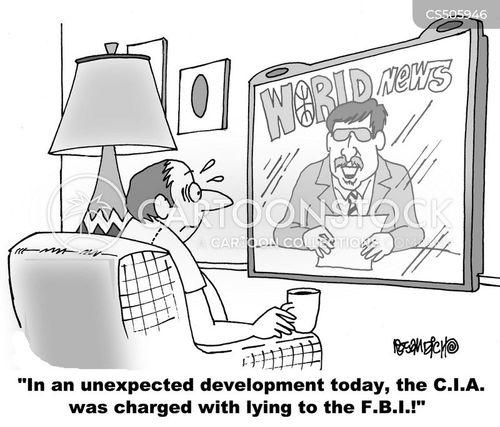 c.i.a. cartoon