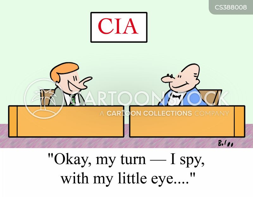 federal agent cartoon