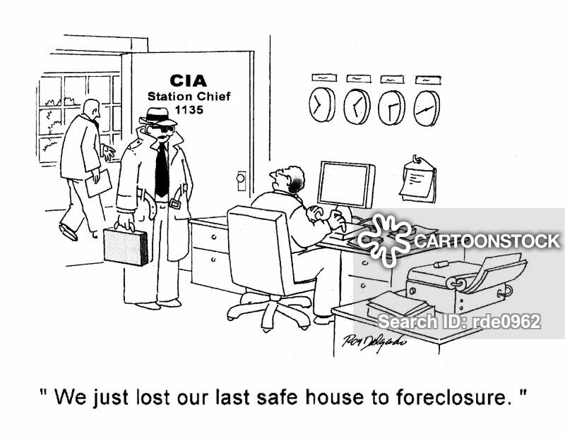 central intelligence agency cartoon