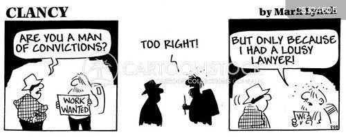 bad lawyer cartoon