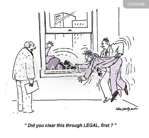 legals cartoon