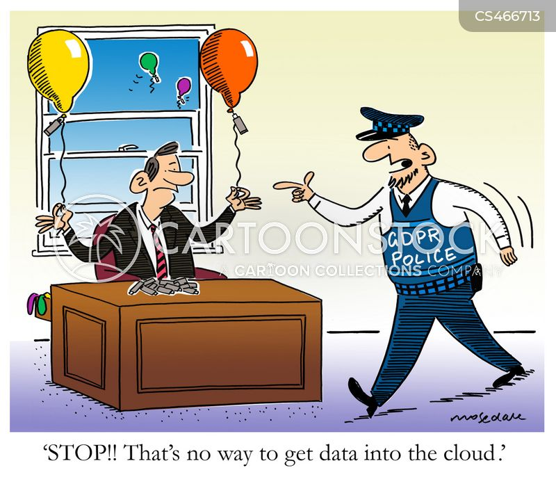 data network cartoon