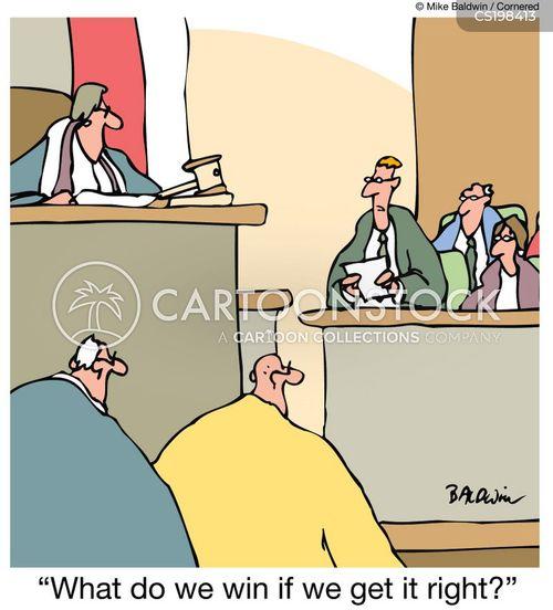correct cartoon