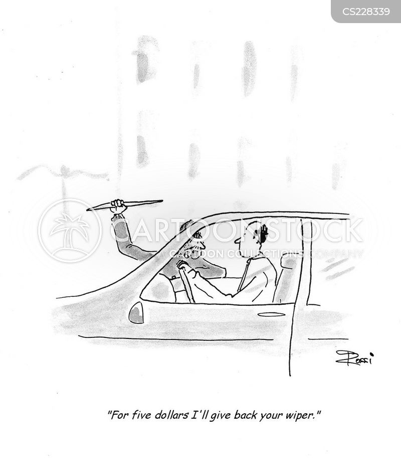 windscreen wiper cartoon