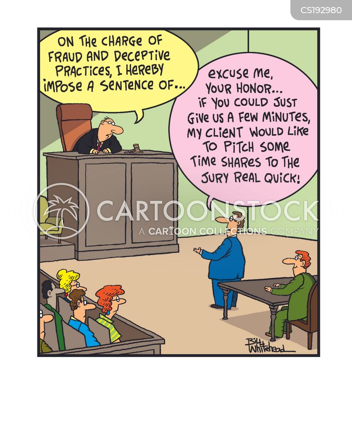 scam artists cartoon