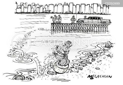low tide cartoon