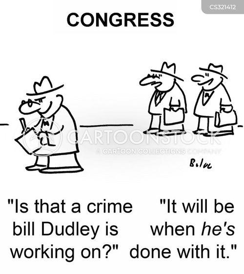 crime bill cartoon