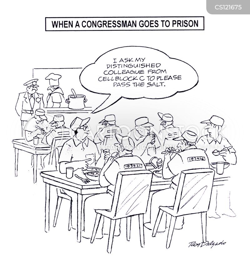 cell block cartoon