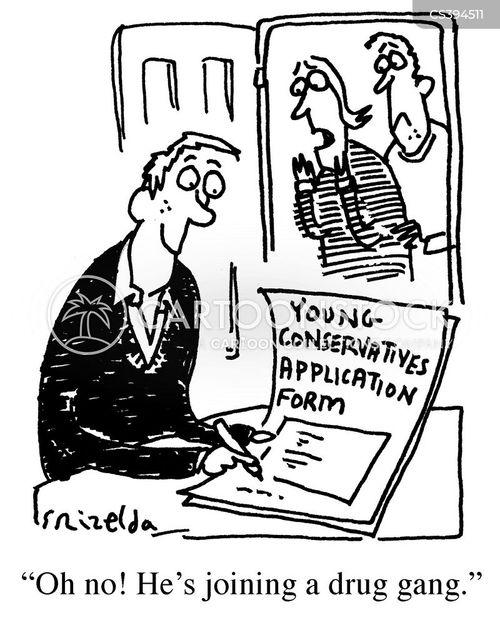 anti social behaviour cartoon