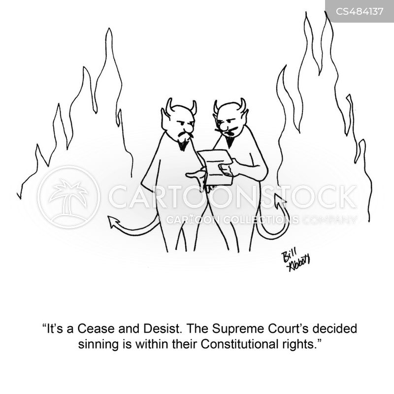 Court Decisions Cartoons and Comics - funny pictures from