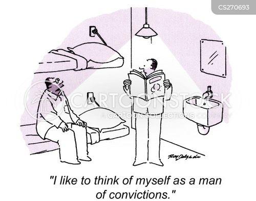 man of conviction cartoon