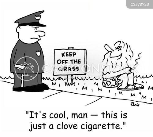 clove cartoon