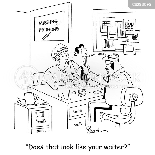 police sketch cartoon