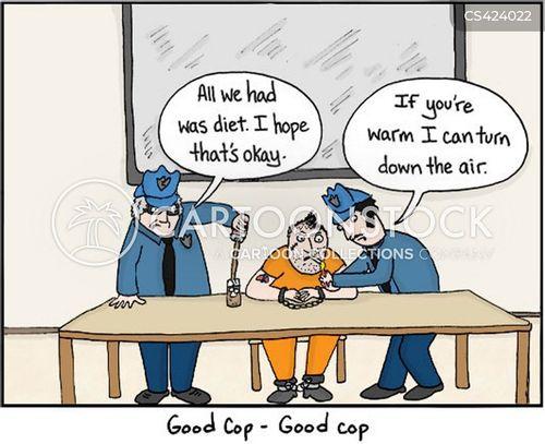 interrogation techniques cartoon