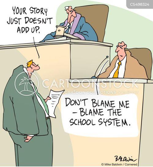cross examinations cartoon
