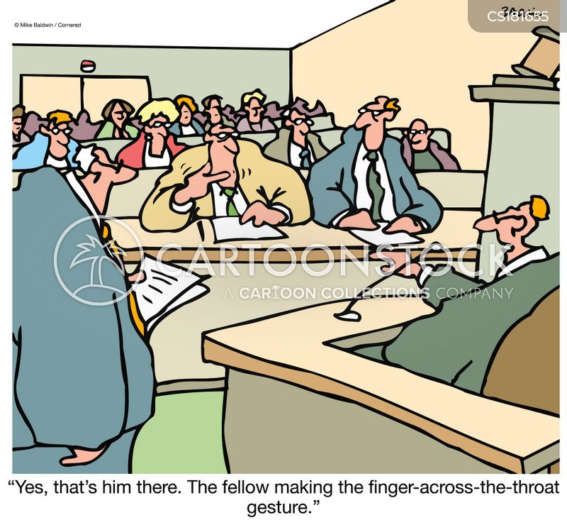 witness protection cartoon