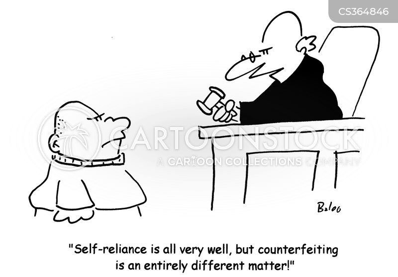 Self Reliance Comic
