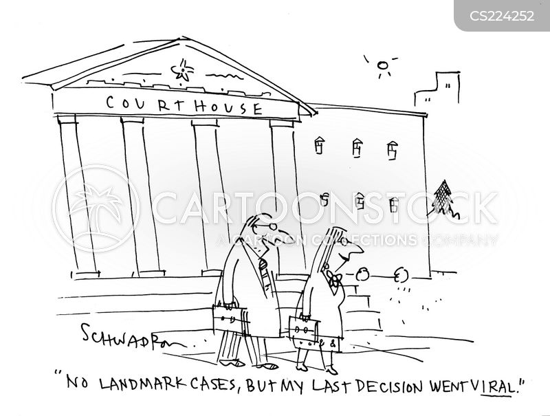 court battles cartoon