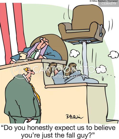 cross examine cartoon