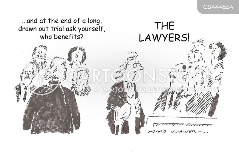 court verdicts cartoon
