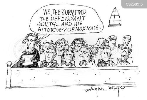 attorney lawyers cartoon