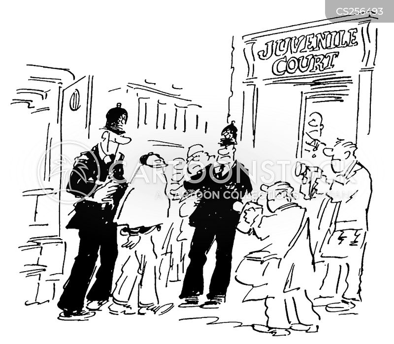 juvenile delinquents cartoon