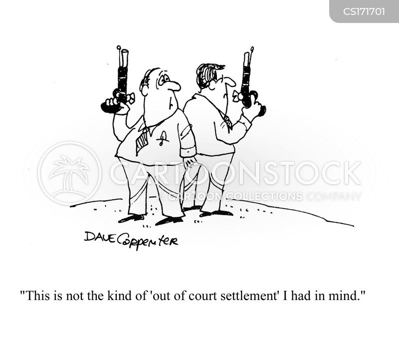 settlements cartoon