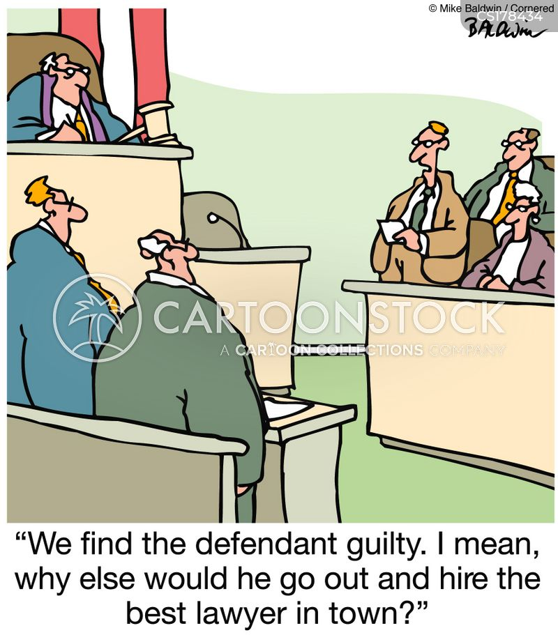 jury verdicts cartoon