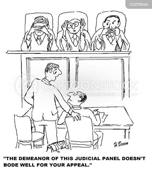 demeanor cartoon