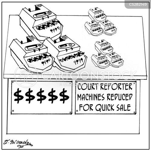 legal secretary cartoon