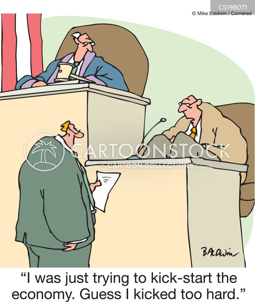 financial crimes cartoon