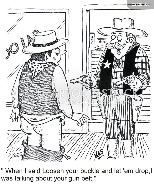 gunbelt cartoon