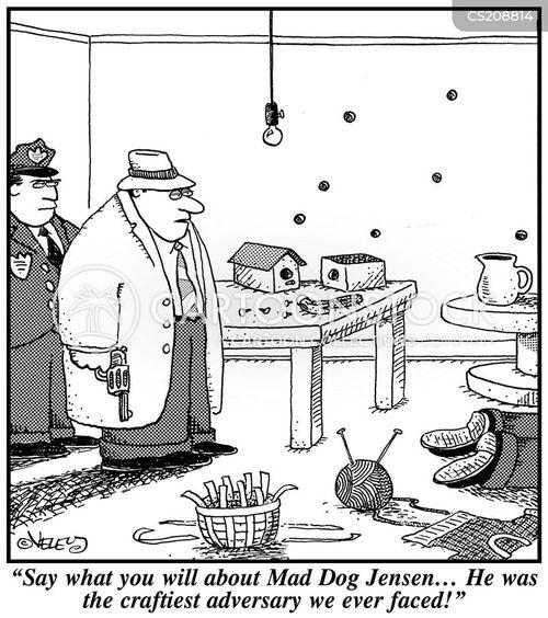 adversaries cartoon