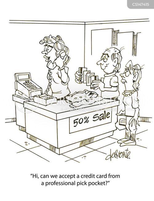 pick pockets cartoon