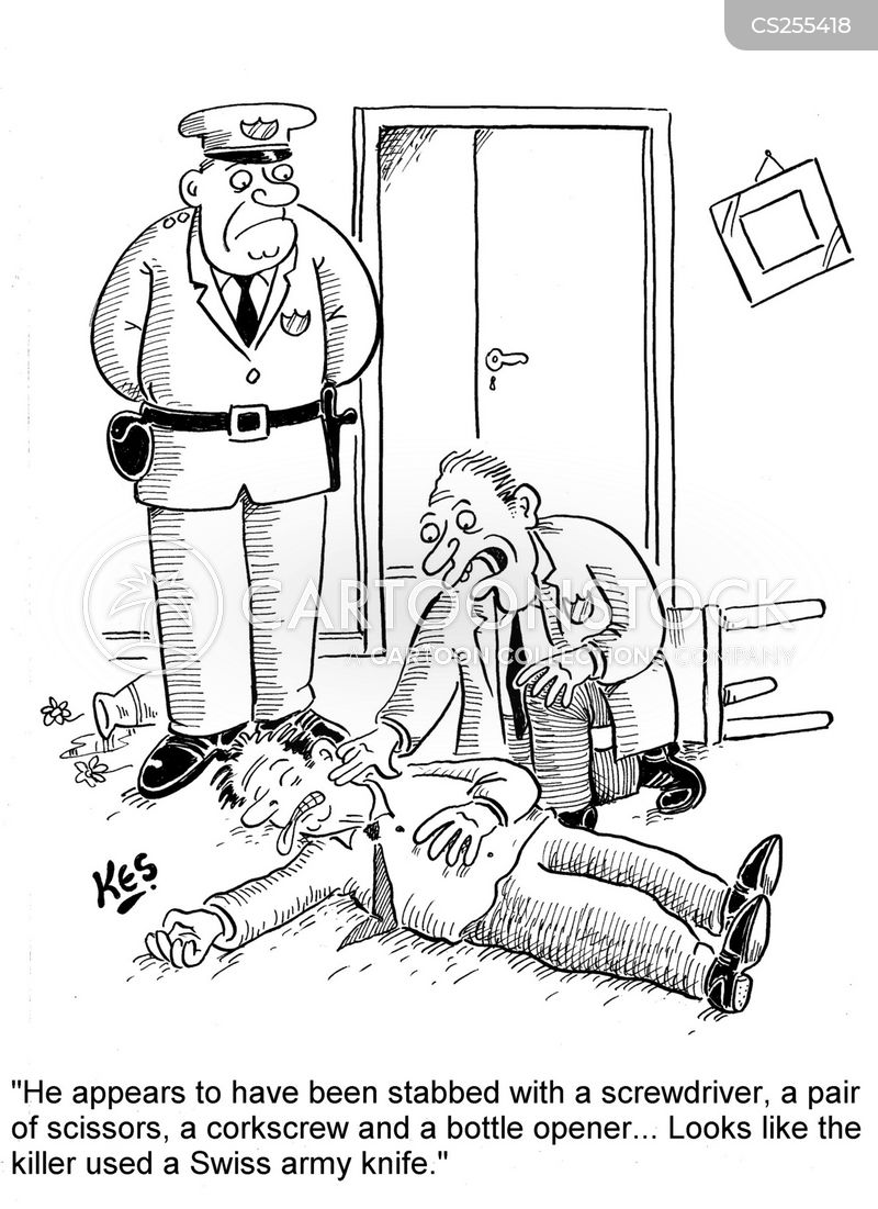 Murder Victim Cartoons And Comics Funny Pictures From