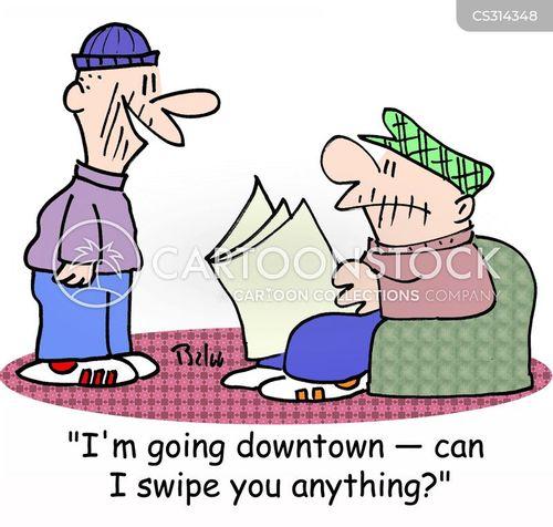 swipes cartoon
