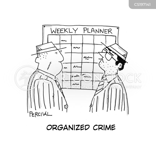 organizing cartoon