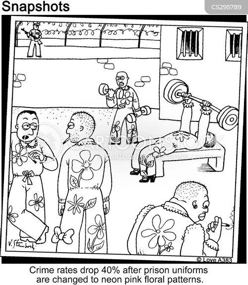 prison uniforms cartoon