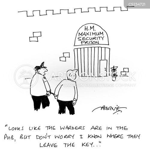 warder cartoon