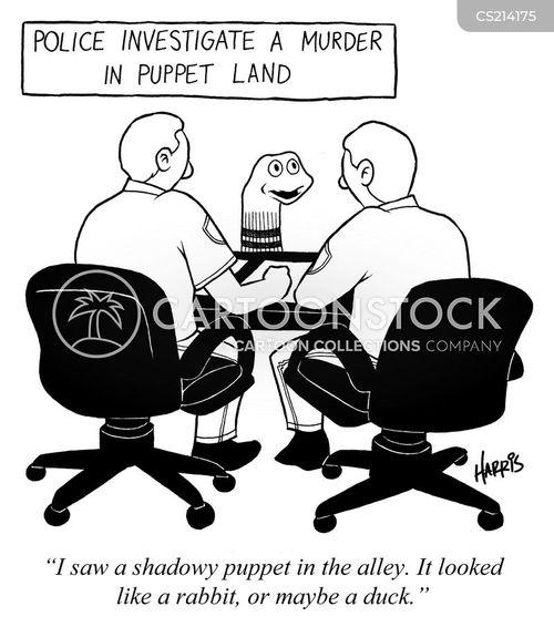 shadow puppets cartoon