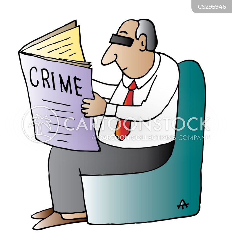 criminologists cartoon