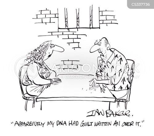 pleading guilty cartoon
