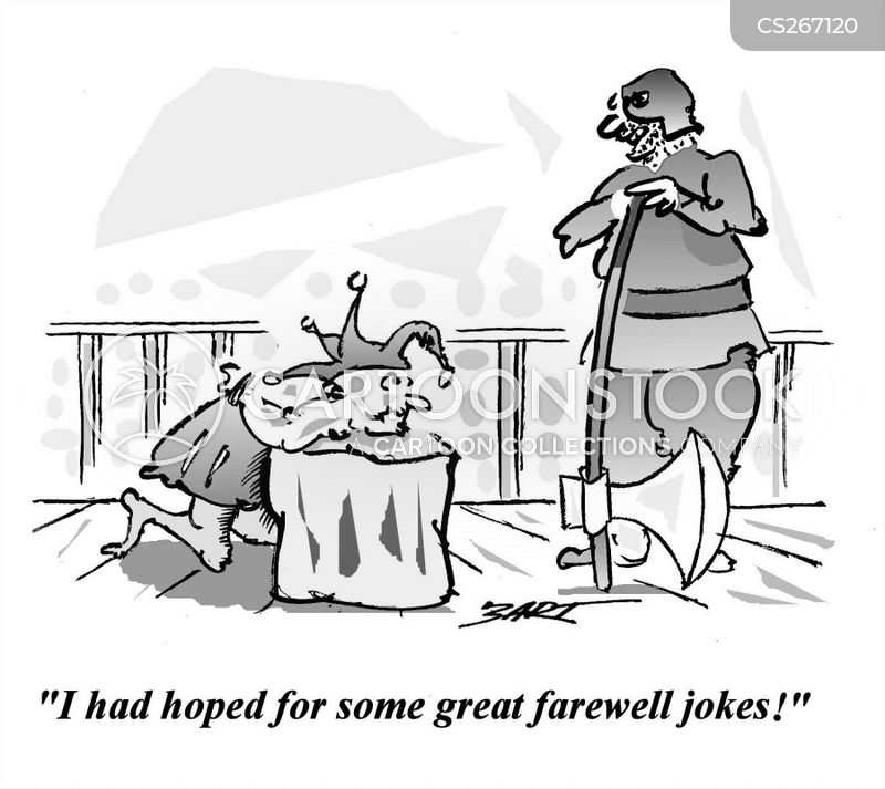 <b>Farewell Jokes</b> Cartoons and Comics - funny pictures from CartoonStock