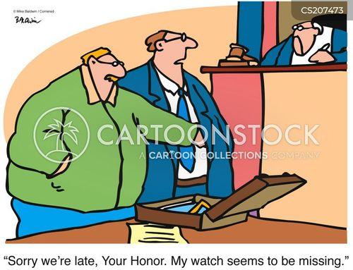 pickpockets cartoon