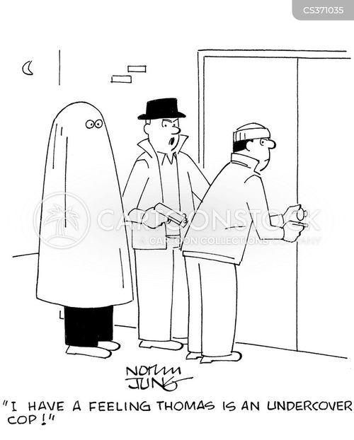 undercover cop cartoon