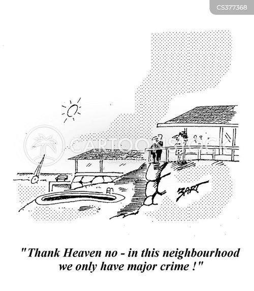 wealthy neighbourhoods cartoon