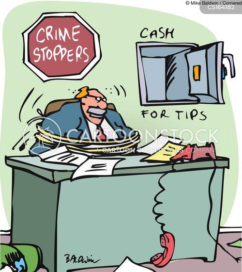 crime stopper cartoon