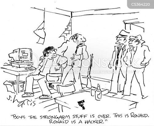strong arm cartoon