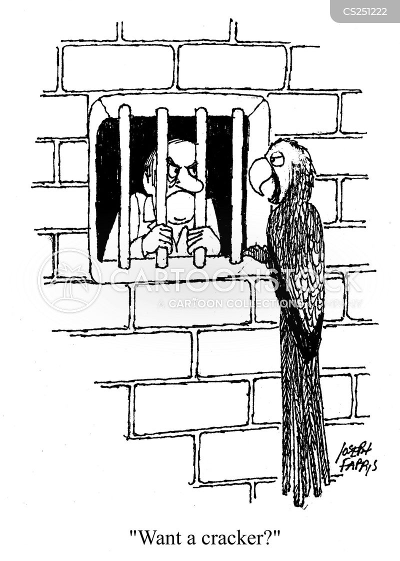 Jail Bird cartoons, Jail Bird cartoon, funny, Jail Bird picture, Jail Bird pictures, Jail Bird image, Jail Bird images, Jail Bird illustration, Jail Bird illustrations