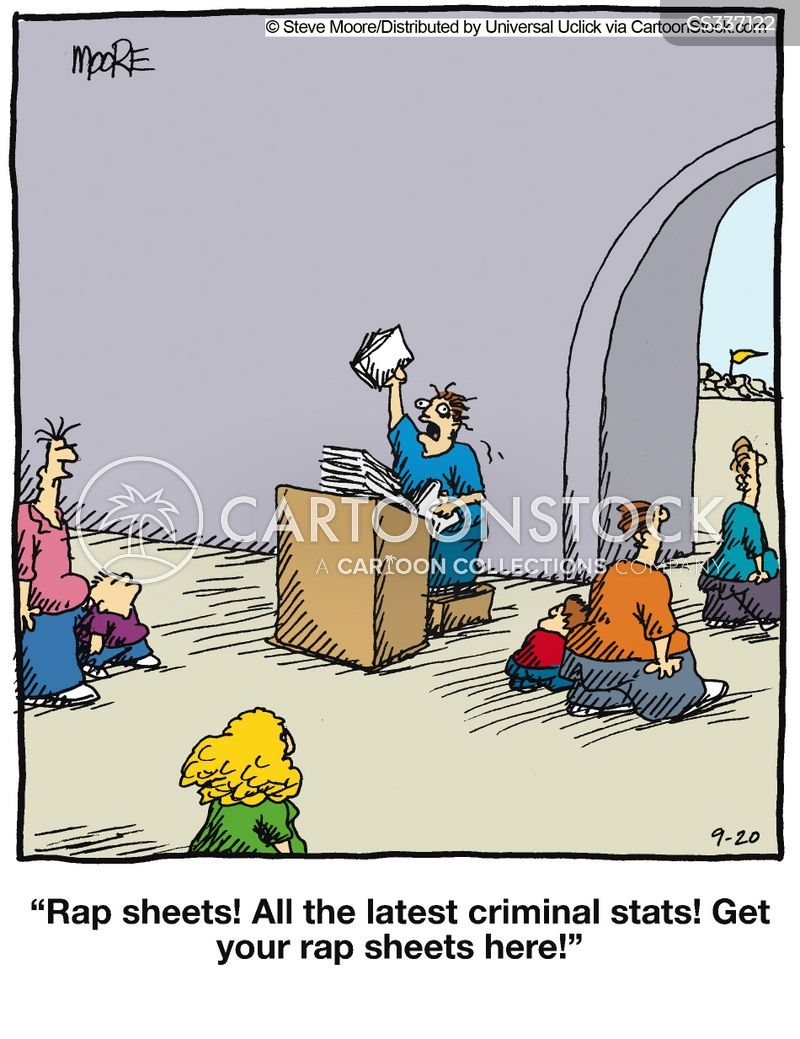 Rap Sheets cartoons, Rap Sheets cartoon, funny, Rap Sheets picture, Rap Sheets pictures, Rap Sheets image, Rap Sheets images, Rap Sheets illustration, Rap Sheets illustrations